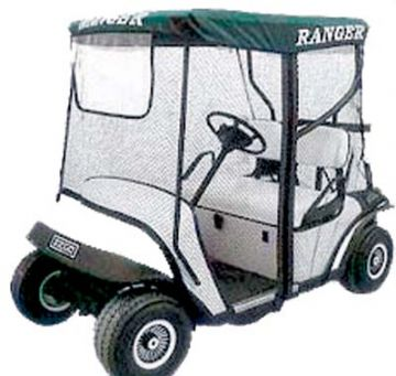Club Car, Range protector enclosure, Nylon mesh